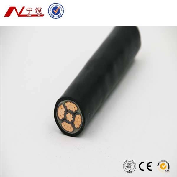 0.6/1KV CU Conductor XLPE insulation PVC jacket power cable