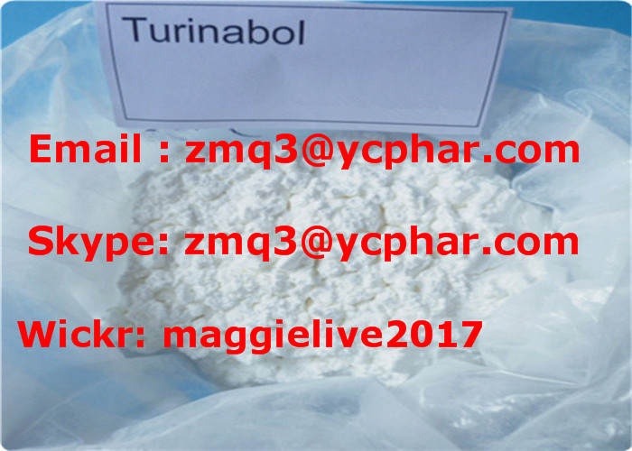 Legal Top Quality Anabolic Steroid Turinabol / 4-Chlorodehydromethyltestosterone For Oral