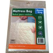 "California King Mattress Plastic Bags 3 Mil 78"" x 14"" x 100""  Gusseted"