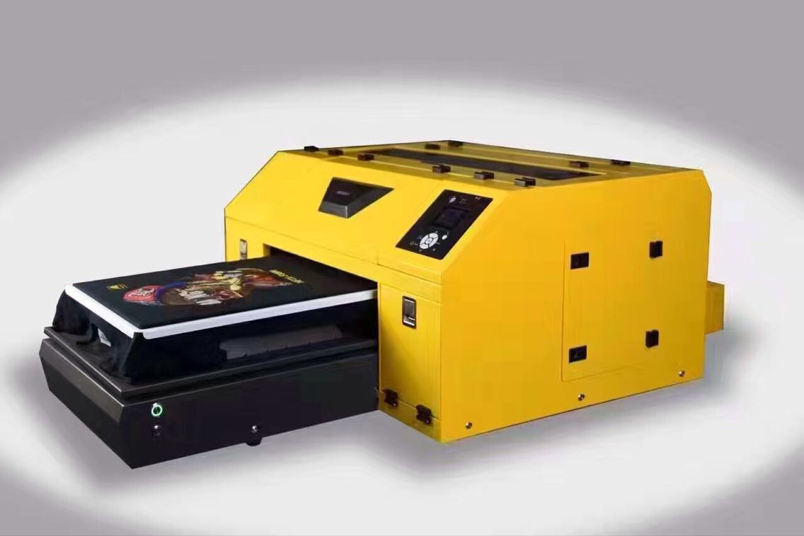 2017 hot sale T shirt printer machine with DX5 head DTG printer Directly print on fabric printer