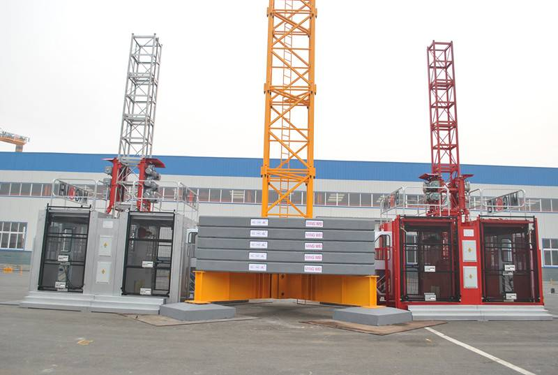 Mingwei Construction Self-Erecting Tower Crane Qtz63 (5610) with Max Load: 6t/Jib 56m