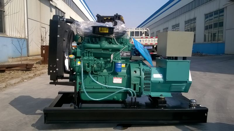 40kva diesel generator with brushless alternator,water cooled generators