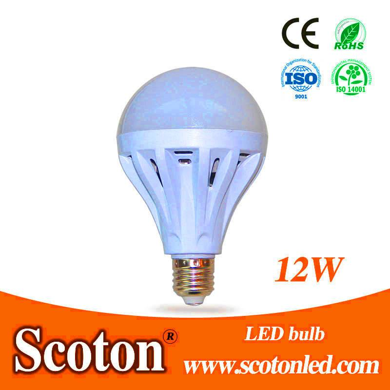 PC Cover 12W LED Bulb