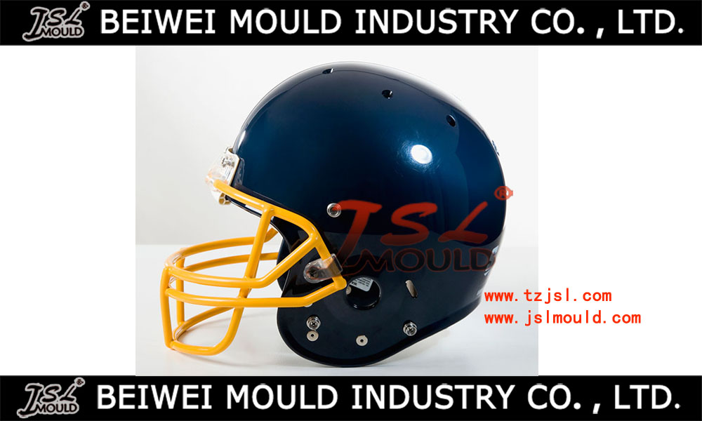 Amberican football helmet moulf for display