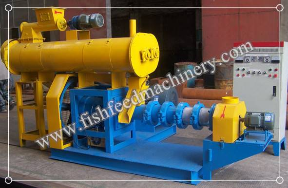 Wet Type Fish Feed Extruder 180-200kg/h FY-DSP60
