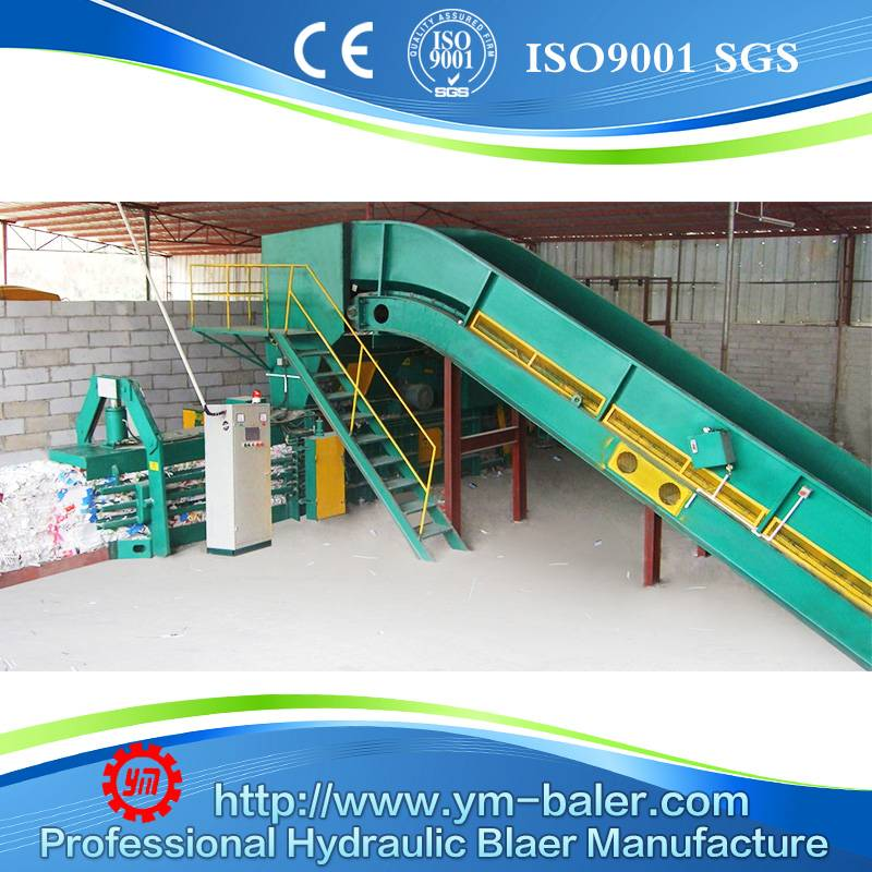 YM-WX100 Waste paper baler,Automatic baler for waste paper