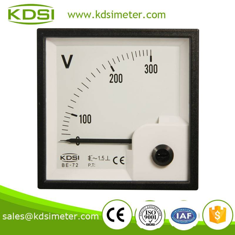 Taiwan technology BE-72 AC300V ac voltmeter display