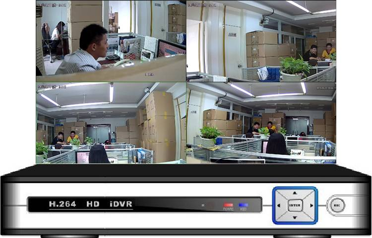 4CH HD IDVR 3 in 1 ( DVR\HVR\NVR ) All Camera Compatible (IP or not IP)