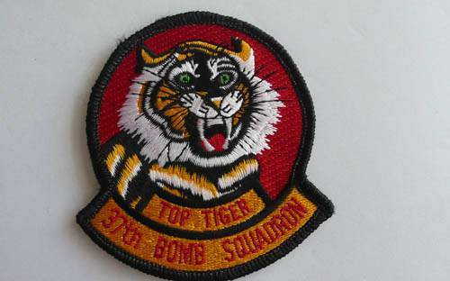 Top Tiger Patch Embroidery
