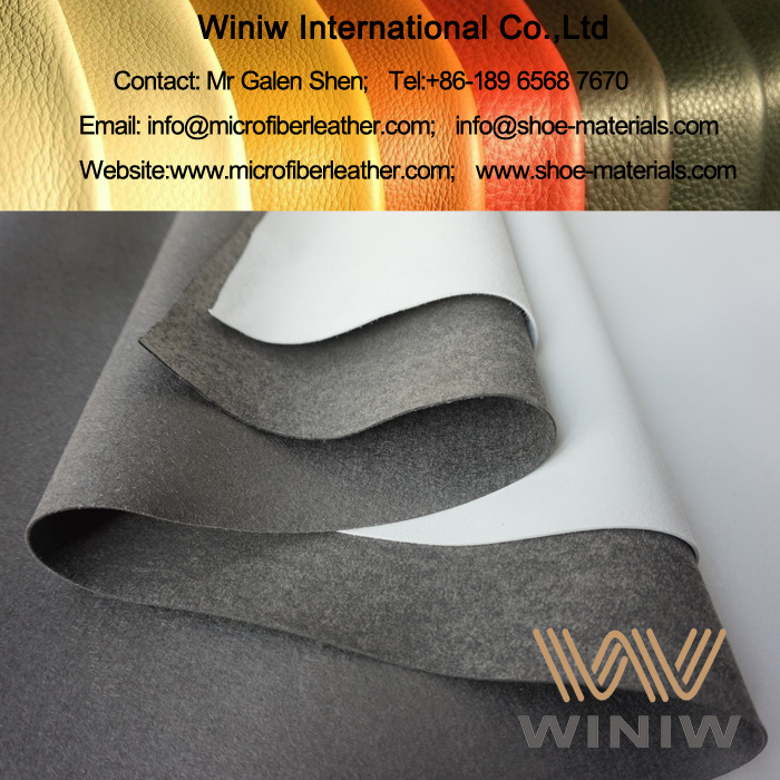 Best Quality Leather Reinforcement Material - WINIW Microfiber Synthetic Leather Base