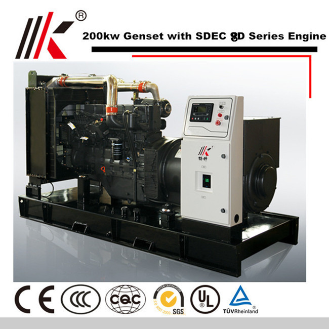 200KW GENERATOR SET WITH SDEC SC9D310D2 DIESEL ENGINE 250KVA GENSET DIESEL GENERATOR PRICE