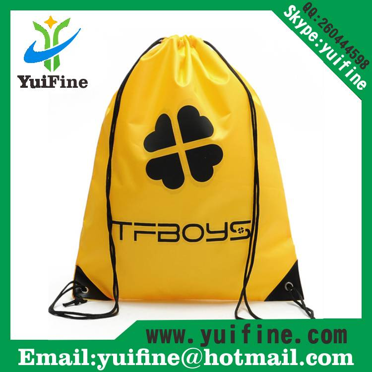 Drawstring Non woven tote bag gift Bag Advertising Bag Customized LOGO Promotional nonwoven Bags