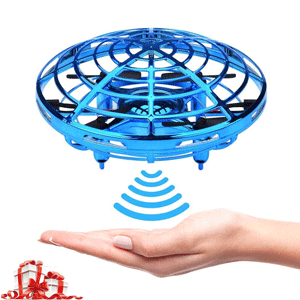 wholesale ufo drones toy aircraft UFO toys gesture control aircraft throwing flying sensing lumin