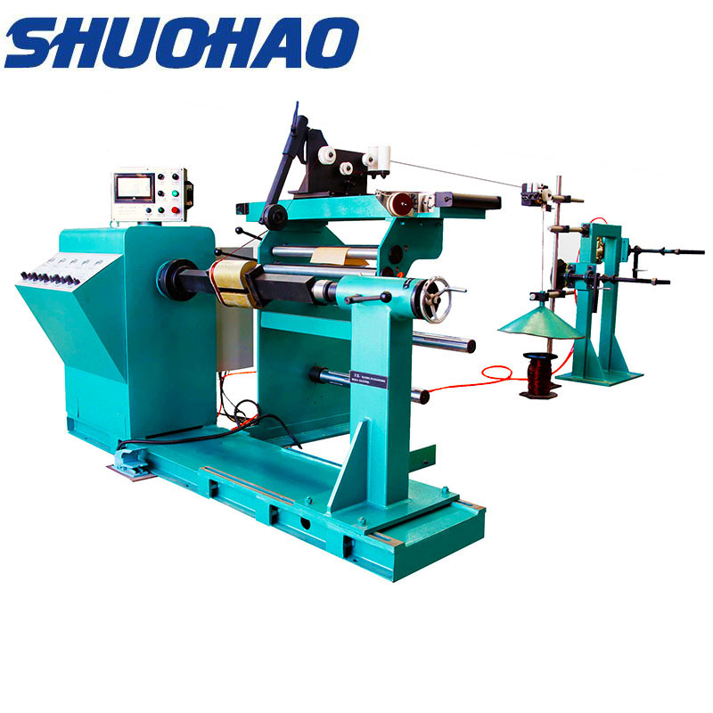 GRX-800 High voltage automatic coil winding machine for 1600kva transformer