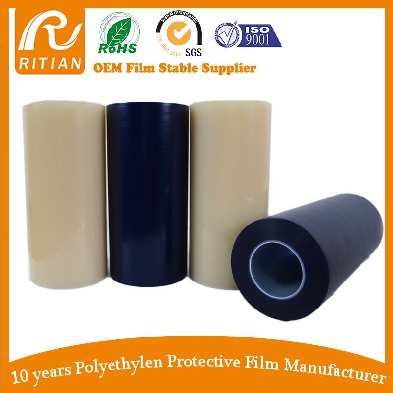 Pe protective film for Stainless Steel/Windows/ Door/ Metal Sheet
