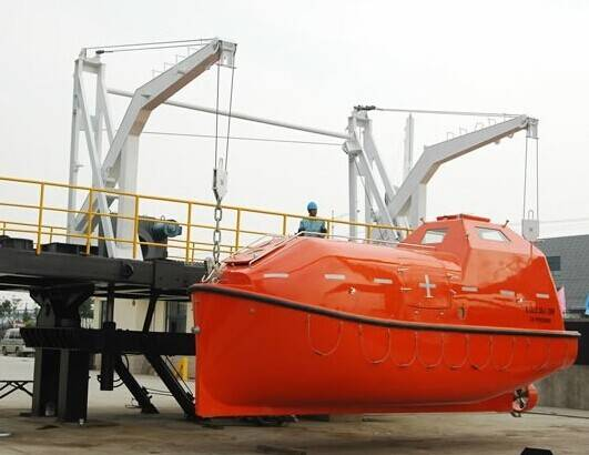 12-25 persons inflatable davit launnhed lifeboat for international voyage