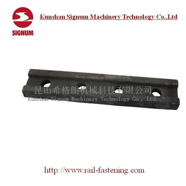 Bs80A Bs100A Rail Fish Plate for Railroad Construction