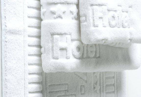 Jacquard Woven Hotel Towels