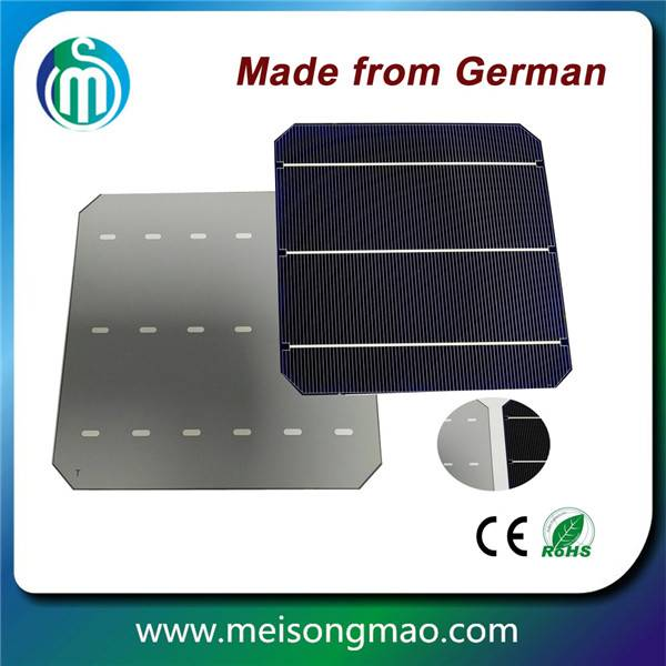 Photovoltaic solar cell 6inch mono solar cell for sale