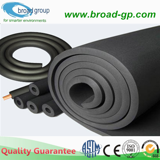 Rubber foam insulation