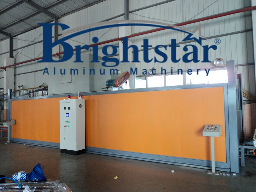 Aluminium profile wood grain transfer machine