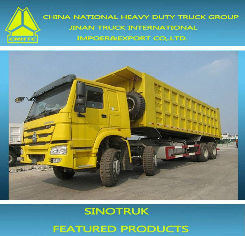 12 wheeler dump truck for engineering construction