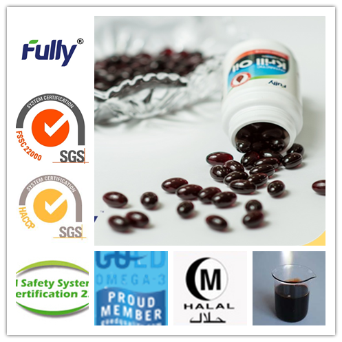 Fully omega-3 antarctic krill oil