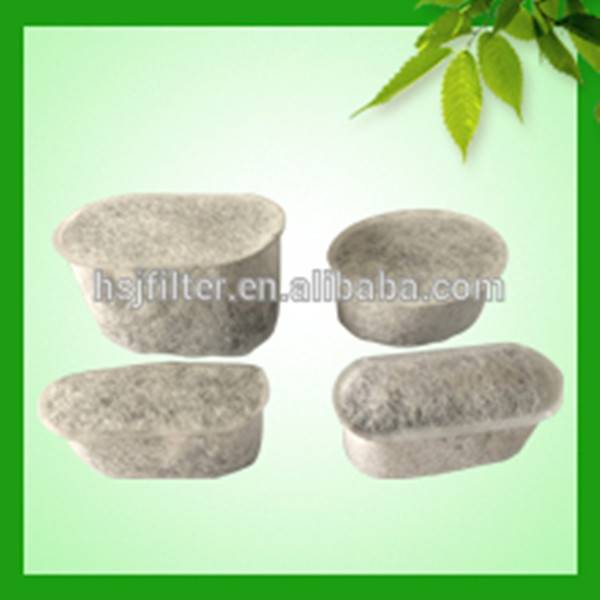 Charcoal water filters for cursinart coffee machine