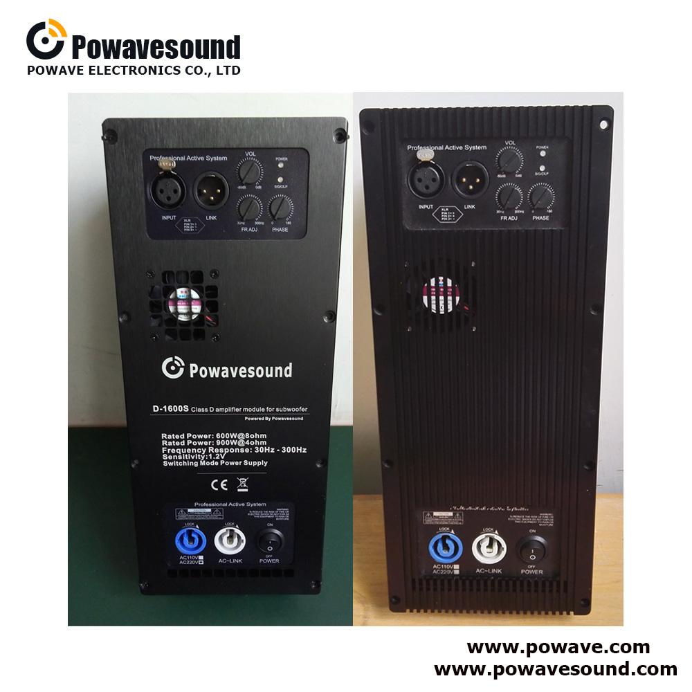D-1300S, D-1600S, D-1800S, Powavesound class d digital amplifier module subwoofer plate amplifier