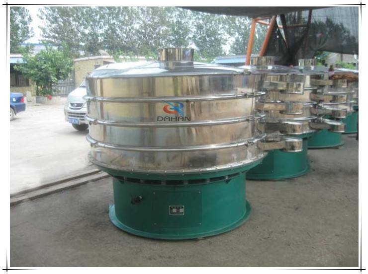 Lager capacity rotary vibration sieve sifter oil separator equipment