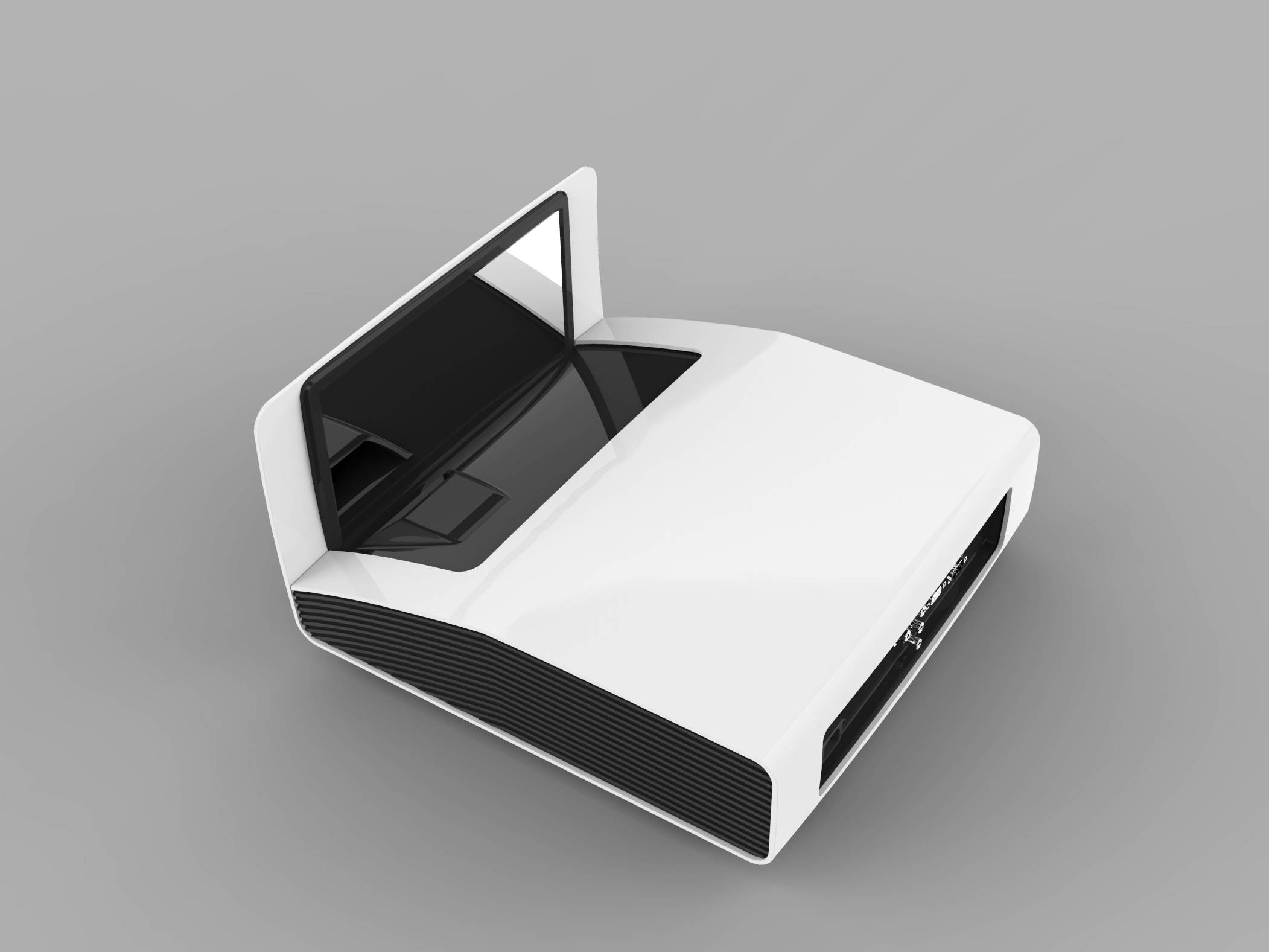 High resolution short throw projector