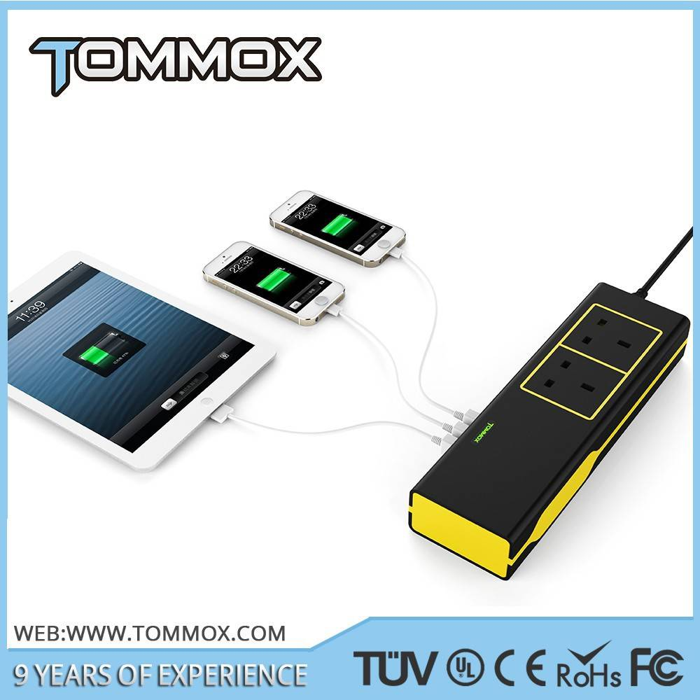 Tommox Usb Power Adapter 5v 8a Usb Adapter For Iphone 4/45/5/6 Tablet