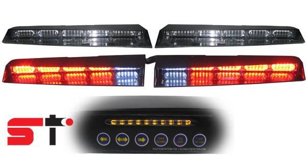 Car Front/Rear LED Visor/Dash/Deck Lightbar
