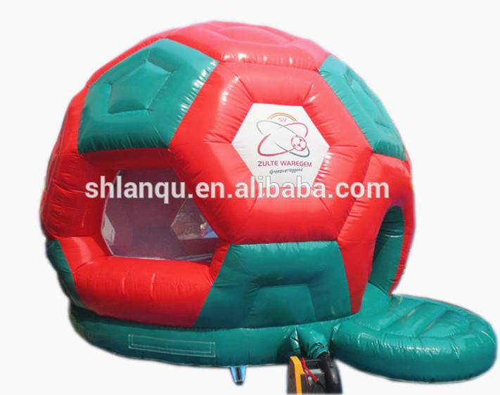 Lanqu soocer dome inflatable bounce for party