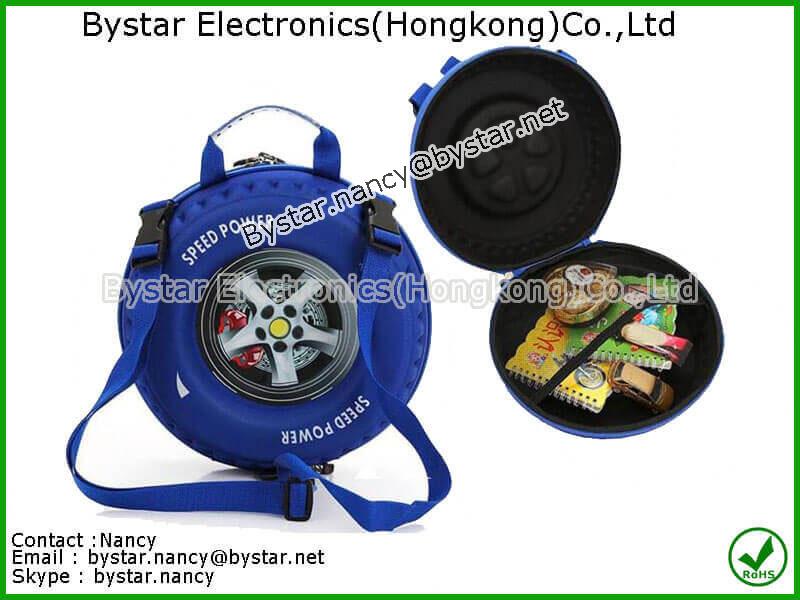 Child backpack School bag hard case EVA carrying case foam Shockproof bag waterproof bag