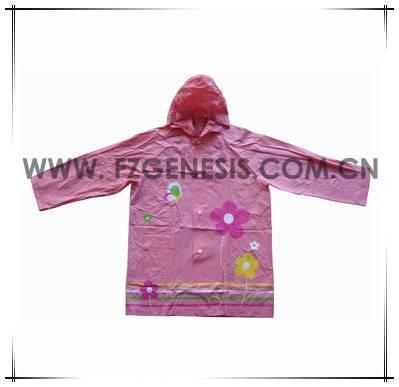 #kids070 pvc kid wear