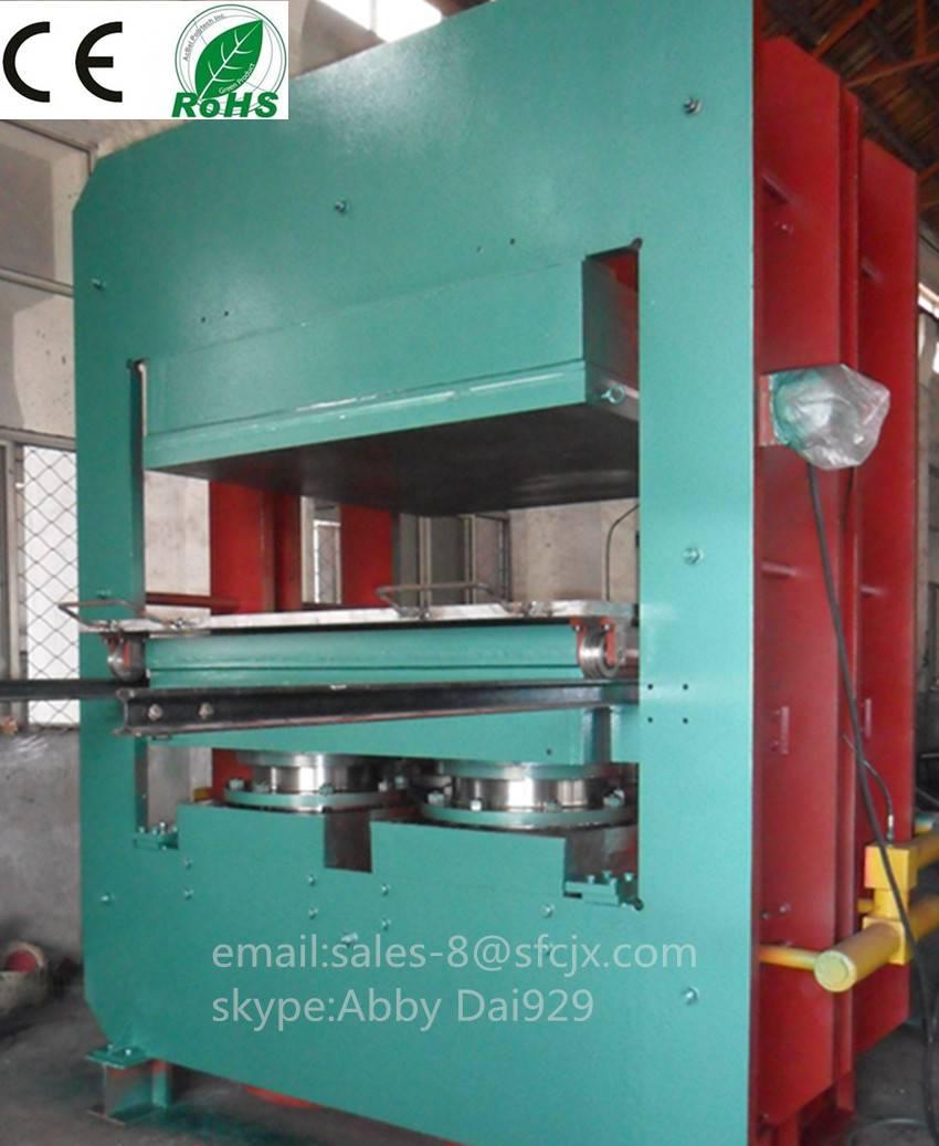 Plate Vulcanizing Press, Rubber Vulcanizing Press, Rubber Press