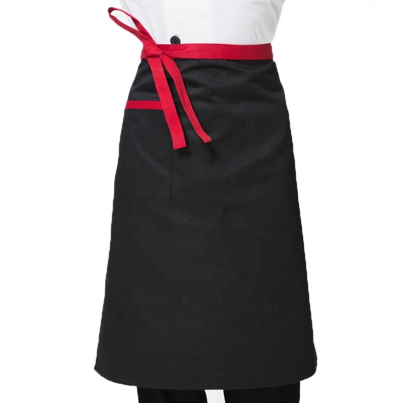 65%Polyester+35%Cotton Kitchen Apron Cook Apron
