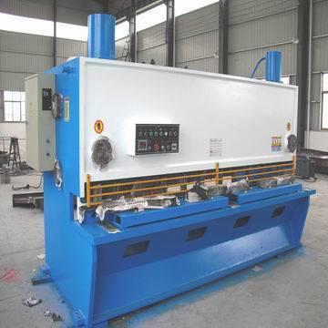 hydraulic plate sheet shearing machine