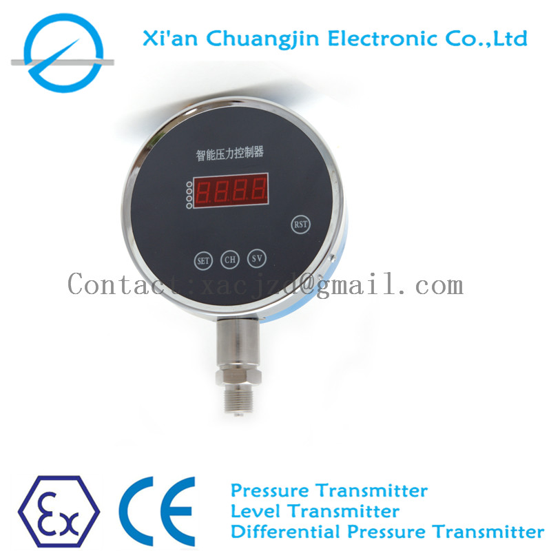 -0.1-0-100Mpa 4 relays stainless steel differential pressure controller