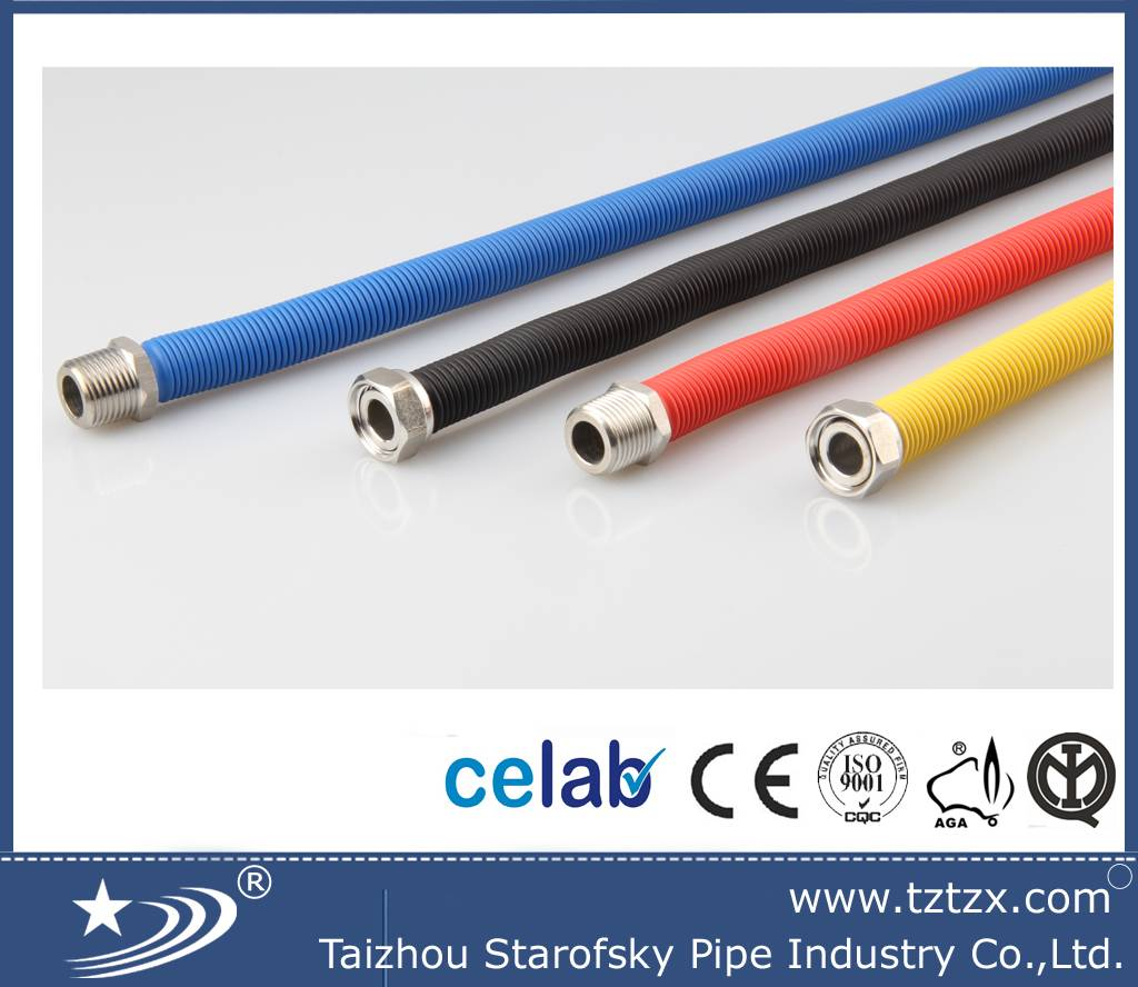 CE certificate SS  flexible extensible gas tube