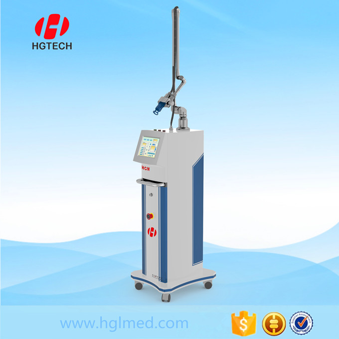 Refresh the skin Fractional co2 laser machine with RF metal tube