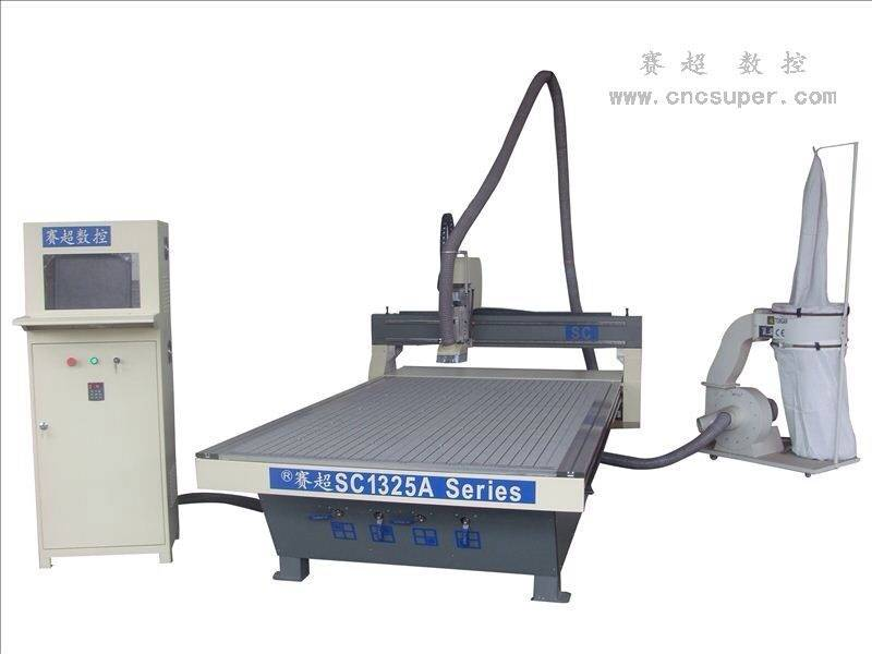 Woodworking CNC router SC 1325A WITH VACUUM TABLE AND DUST CLEAN SYSTEM