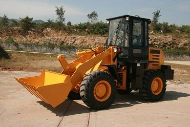 1.6T wheel loader from China