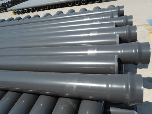 pvc pipes ISO manufacture