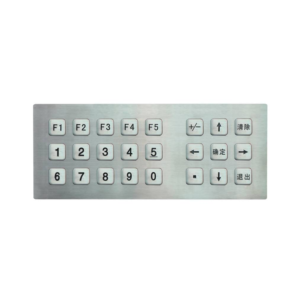 Matrix design 8x3 keypad for widely use metal dome button keypads touch access control keypads