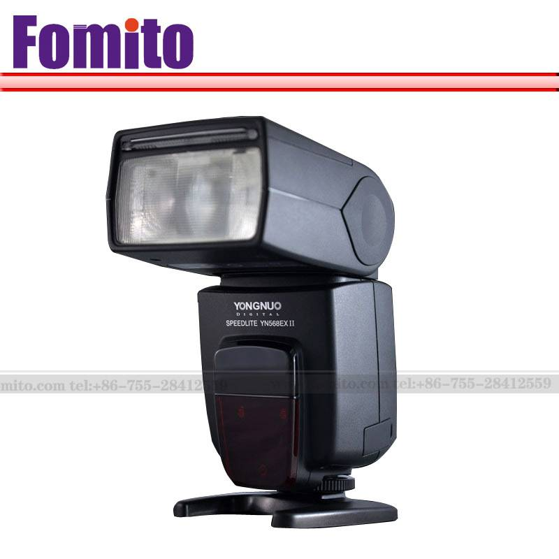 Fomito New Yongnuo YN-568EXII YN568ExII HSS Flash Speedlite and master camamera flash for Cano n 5DI