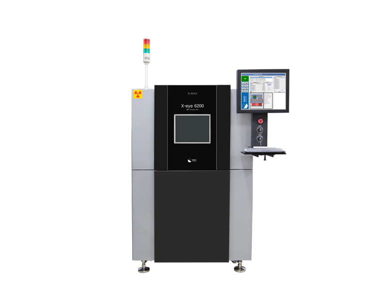X-Ray Inspection System: X-eye 6200 from South Korea