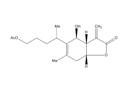 1-O-acetylbritannilactone
