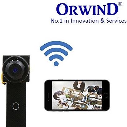 HOT ORWIND Super Mini Spy Cam HD VIEW ANGLE WIFI IP CCTV CAMERA PLUG & PLAY WIRELESS NETWORK EASY